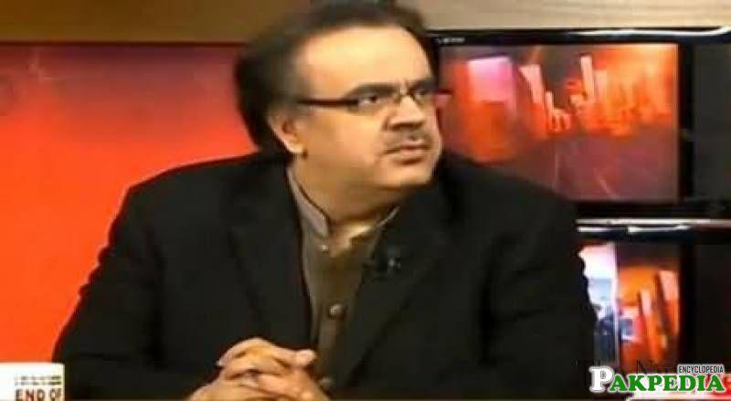 Dr. Shahid Masood study at Jinnah Sindh Medical University