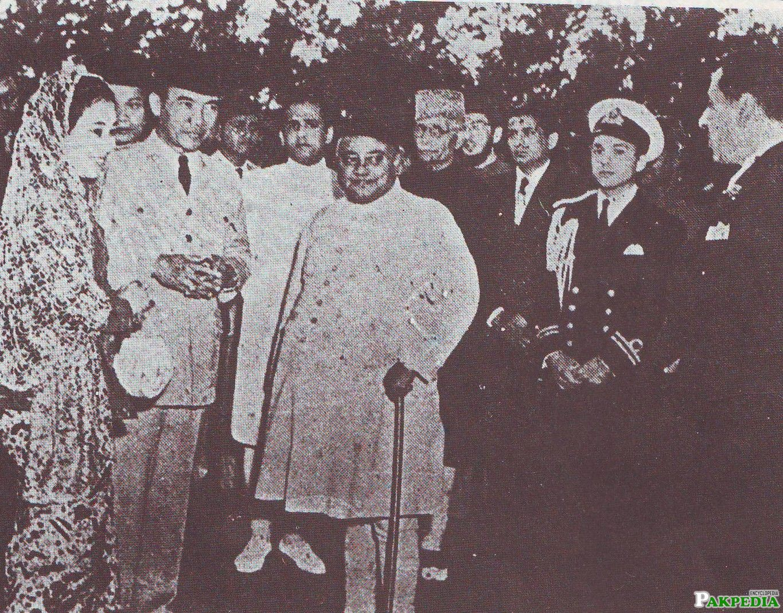 Khawaja Nazimuddin Historical Image