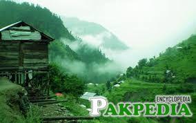 Jhelum Valley in Fog