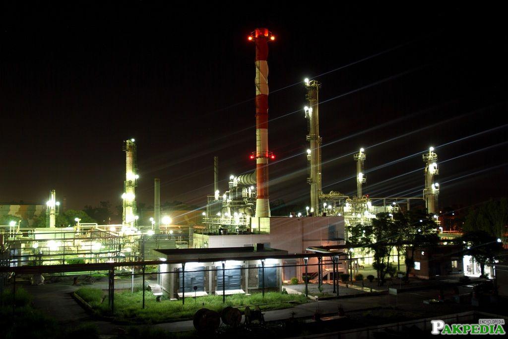 Attock Refinary Limited Main Plant