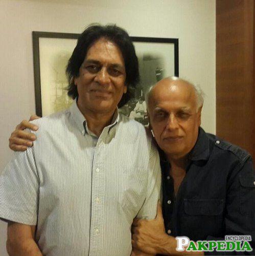 Shoaib with Mahesh Bhatt
