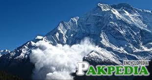 Himalayas mountains in cloud