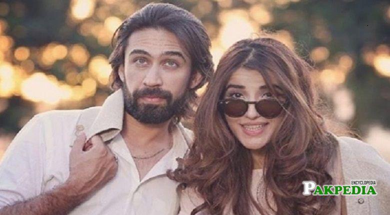 Ali Rehman with actress Hareem farooq