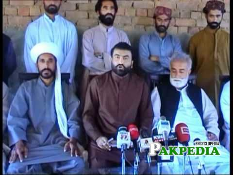 During a press Conference in Balochistan