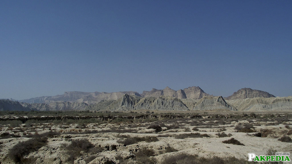 Hingol National Park in Las Bela