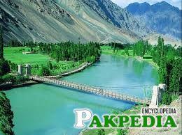 Chitral Valley Bridge