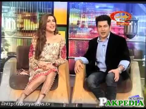 Faakhir Mehmood with Mehwish hayat