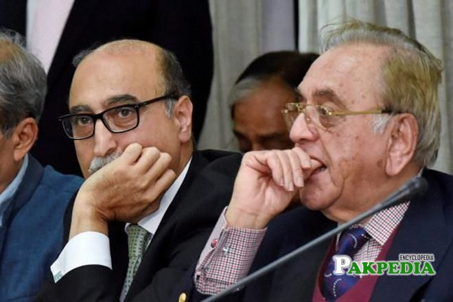 Abdul Basit and Khurshid Mahmood Kasuri