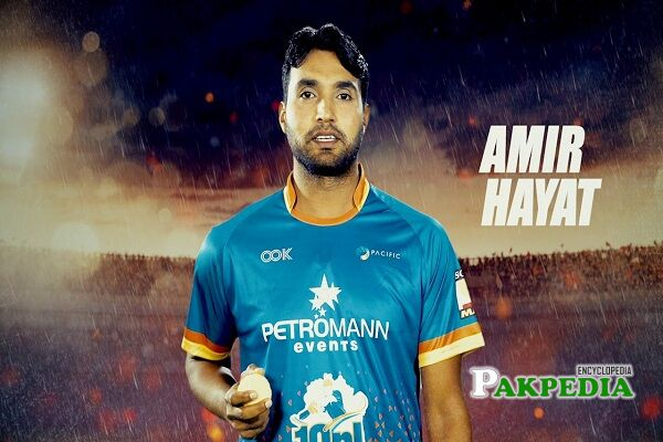 Amir Hayat stats