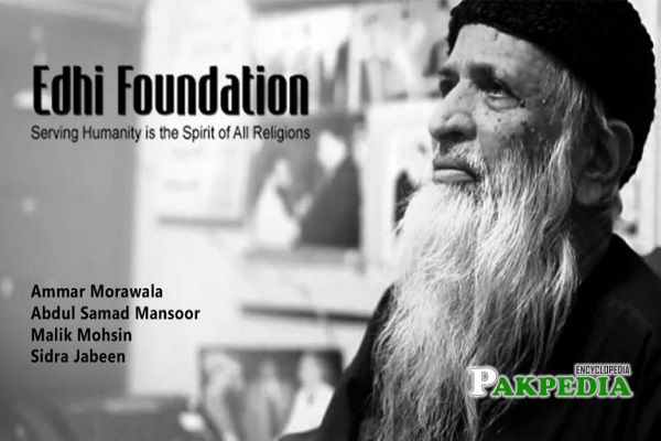 Edhi Foundation Founder