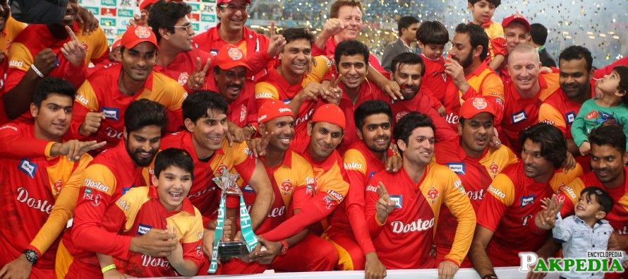 Islamabad United Award