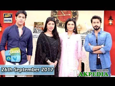 Nida Yasir Good Morning Show