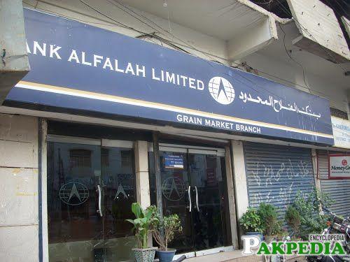 Bank Alfalah Limited Bulliding View