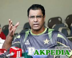 Waqar Younis in Conference