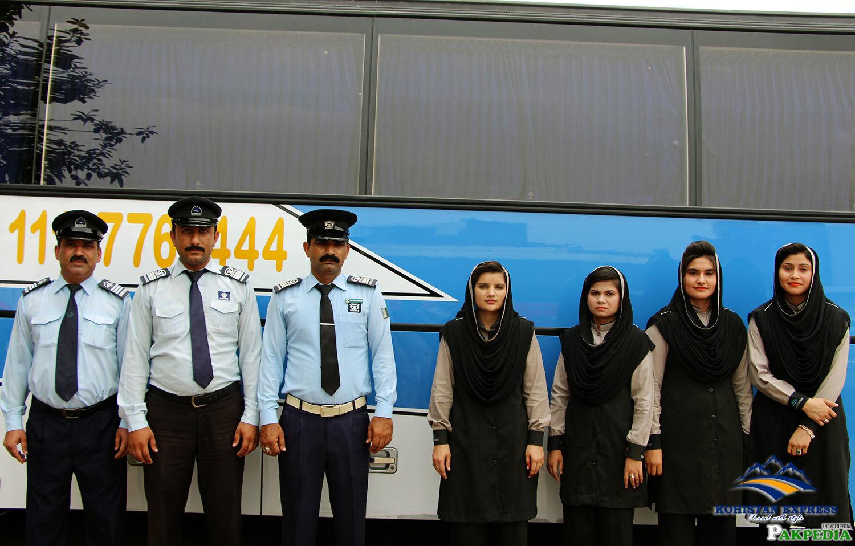 Staff of Kohistan Express