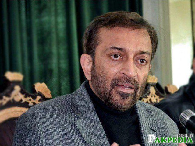 Farooq Sattar Chairman of MQM P