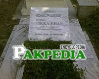 Grave of Tikka Khan