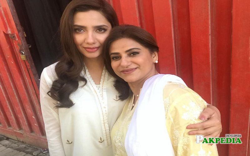 Mariam Mirza with Mahira Khan
