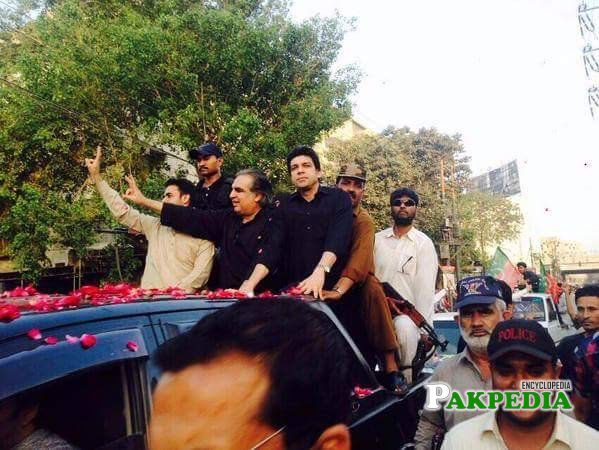 Faisal Vawda gave defeat to Shehbaz in General elections