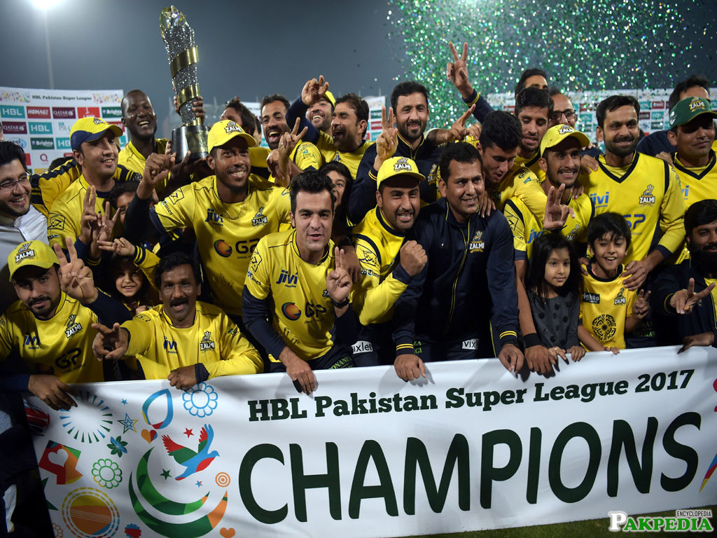 Peshawar Zalmi Winning Moments