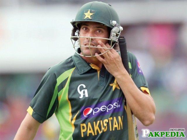 Anwar Ali After Batting