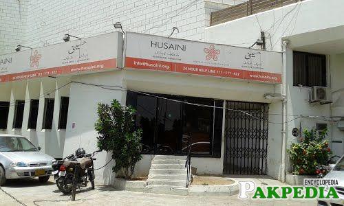 Husaini blood bank OFFICE
