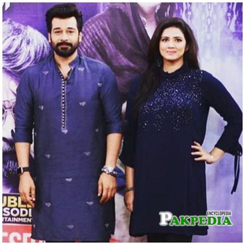 Savera with Faysal qureshi