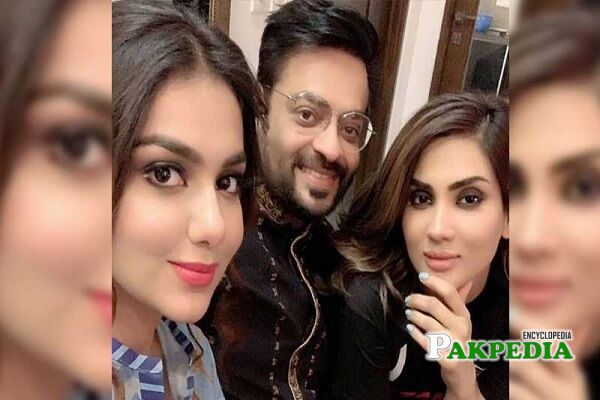 Fiza Ali and Amir Liaquat