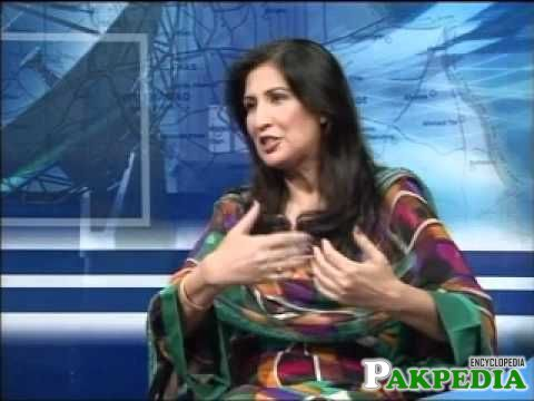 Shehla Raza In TV Show