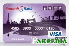 Summit Bank ATM Card