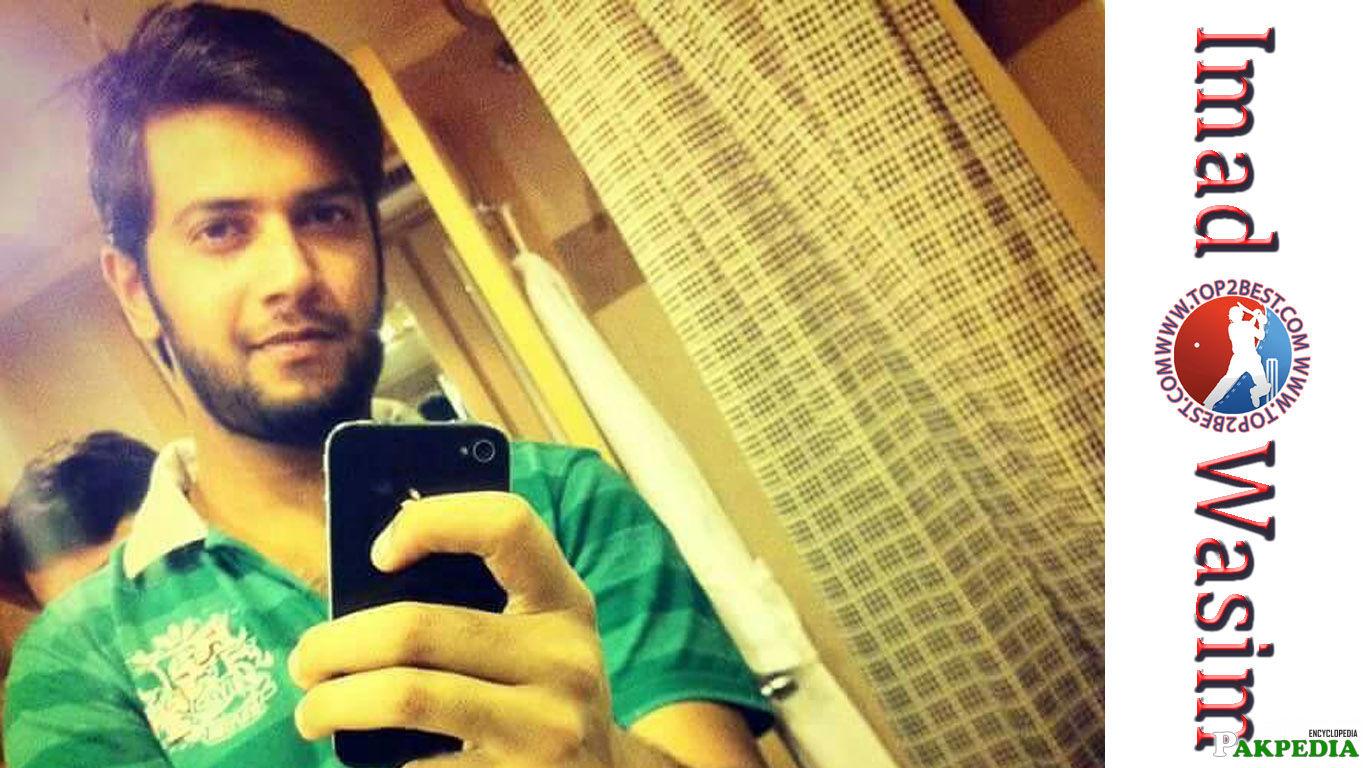 Imad Wasim Selfie Momentt