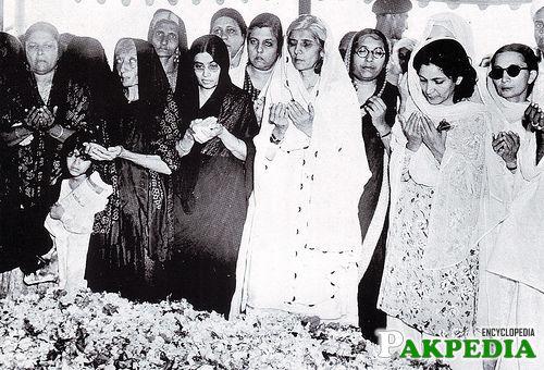 Image at the Death of Quaid-e-Azam