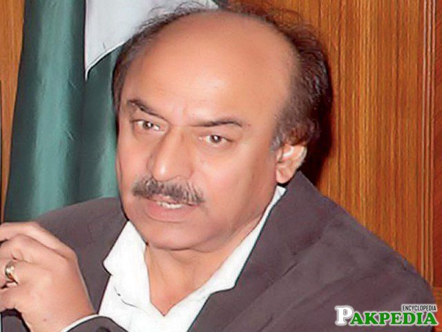 Nisar Ahmed Khuhro a Politician