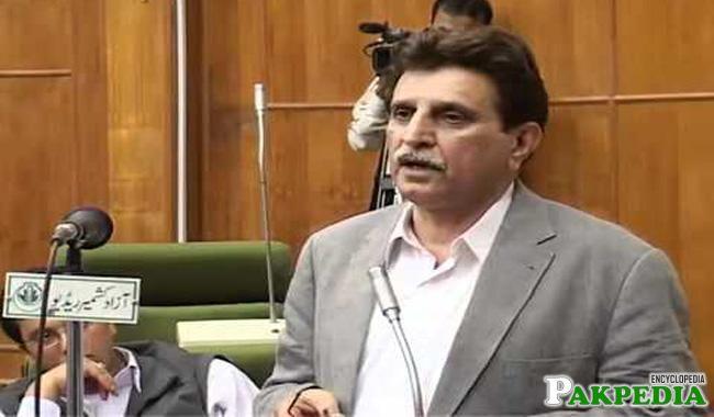 Farooq Haider Khan a Politician
