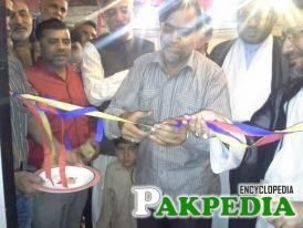 Syed sibt-e jaffar(shaheed) inaugurated JDC office