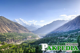 Hunza Valley in early spring