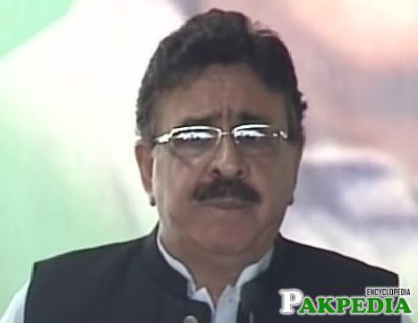 Raja Ashfaq Sarwar Politician