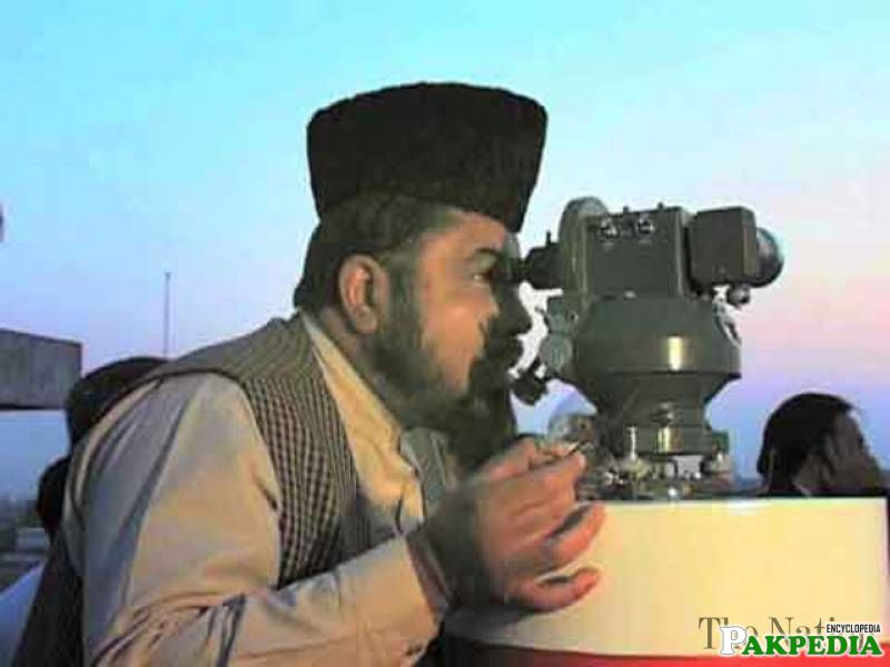 Mufti Abdul Qavi former member of Ruet-e-hilal committee