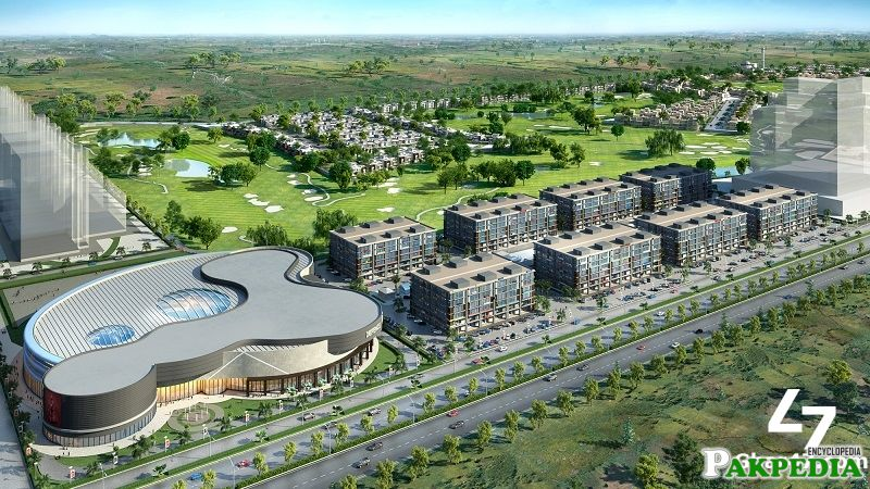 Commercial plot in DHA