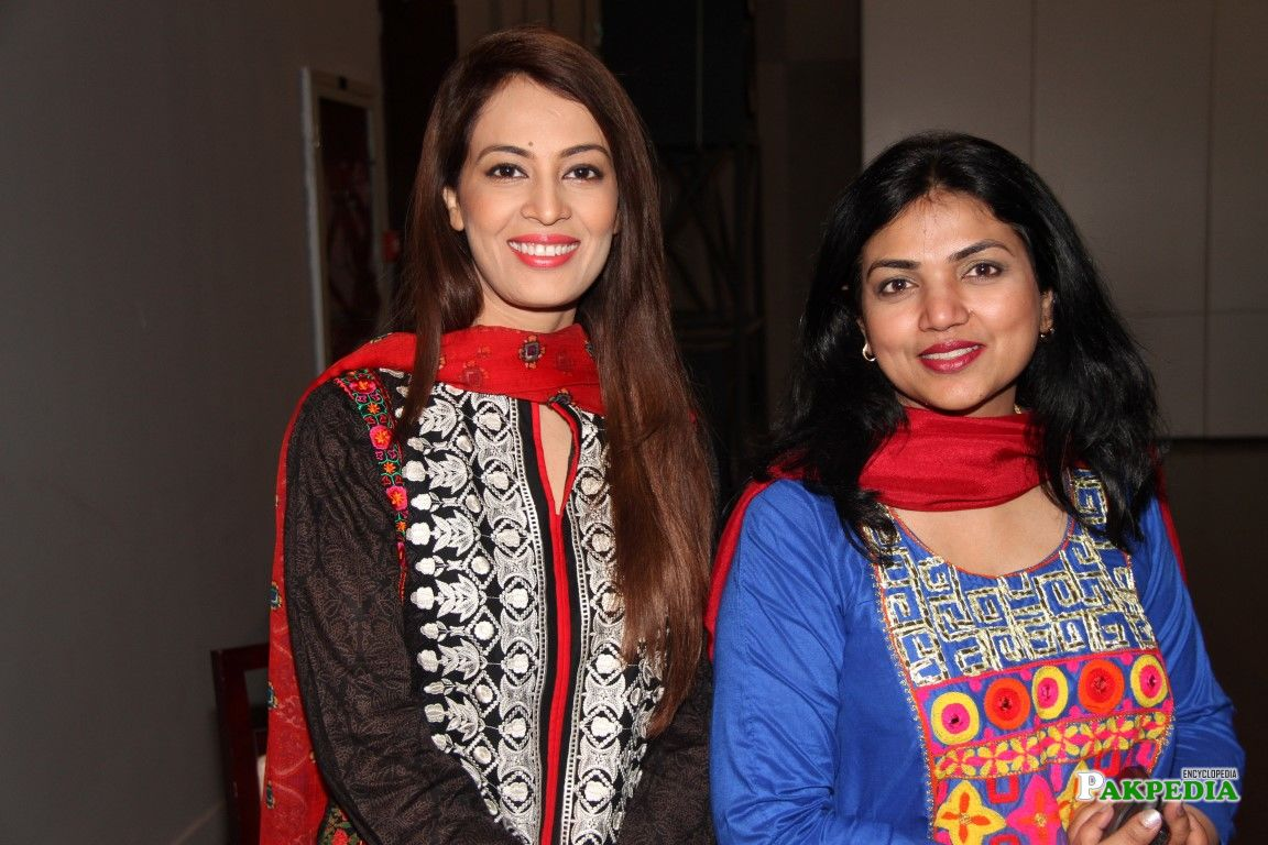 Farah Hussain and Meera