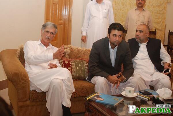 Murad Saeed with parvez khatak