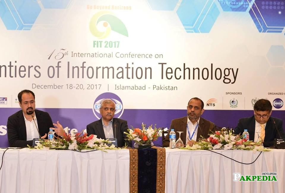 15th International Conference on Frontiers of Information Technology 2017 held on 20th December 2017