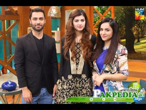 In morning show for the promotion of 'ye raha Dil'