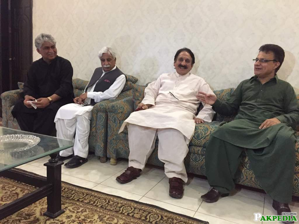 President of Pakistan Justice Democratic Critic Party