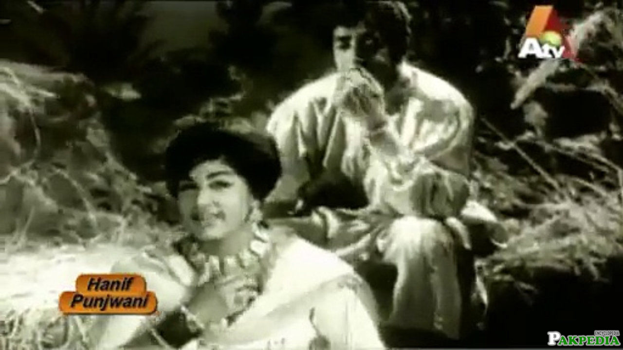Noor Jahan in a movie
