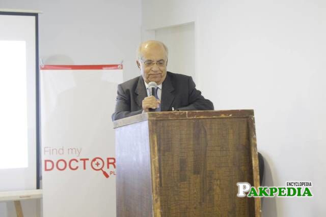 During an event as a chief guest