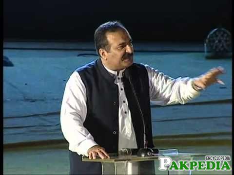 Rana Mashood Ahmad Khan in a Programe