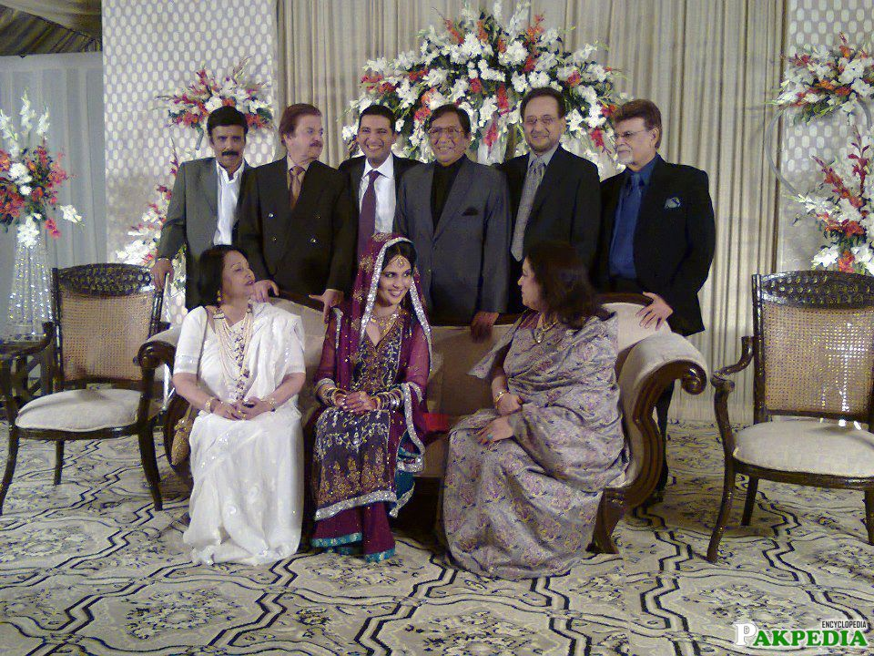 Talat Hussain Warsi in wedding