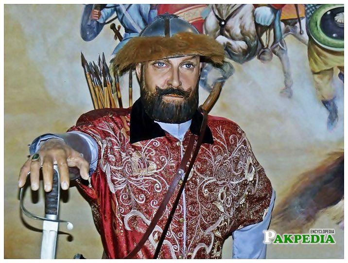 A Rare picture of Mahmood Ghaznavi