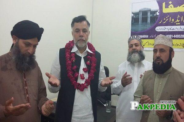 Marghoob Ahmad elected as MPA